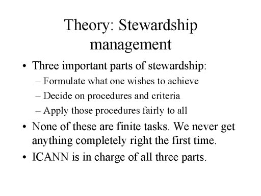 stewardship theory Agency theory states that problems arise in corporations because the agents (top  management) are not willing to bear responsibility for their de view the full.